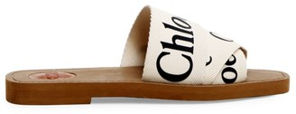 Chloé Woody Flat Sandals