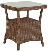 Pier 1 Imports Capella Island Textured Walnut Brown Accent Table