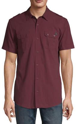 i jeans by Buffalo Buffalo Short Sleeve Woven Shirt