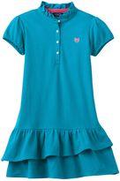 Chaps Toddler Girl Pique Polo Dress