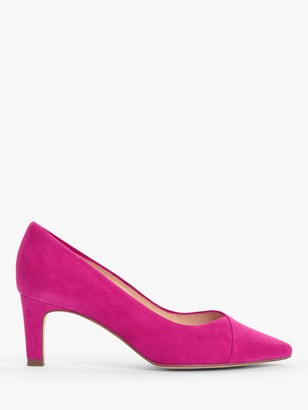 Peter Kaiser Maike Suede Court Shoes, Berry