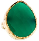 Monica Vinader Green Onyx Cocktail Ring