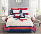 Hallmart Collectibles Ryden 8-Pc. Quilted King Comforter Set
