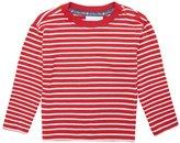 Jo-Jo JoJo Maman Bebe Breton Top (Toddler/Kid) - Red/Ecru Stripe-3-4 Years