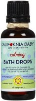 California Baby Essential Oil Bath Drop- Calming Bedtime - 1 oz by