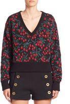 Chloé Cherry Printed Sweater