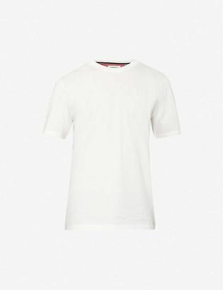 Ted Baker Logo-print cotton-jersey T-shirt
