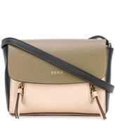 DKNY colour block shoulder bag - women - Leather - One Size