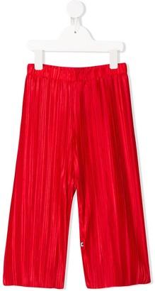 Molo Kids Pleated Trousers