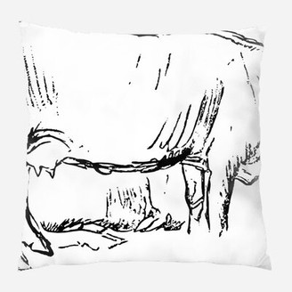 Ebern Designs Purkey Splash Throw Pillow Cover Material Synthetic Location Outdoor Shopstyle