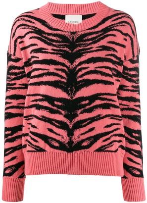 Laneus Tiger Stripes Sweater