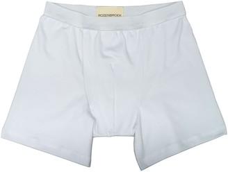 Rozenbroek Organic Bamboo Jersey Boxer-Short In White