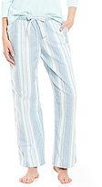 Sleep Sense Striped Flannel Sleep Pants