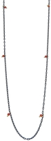 Ten Thousand Things Long Studded Coral Chain Necklace