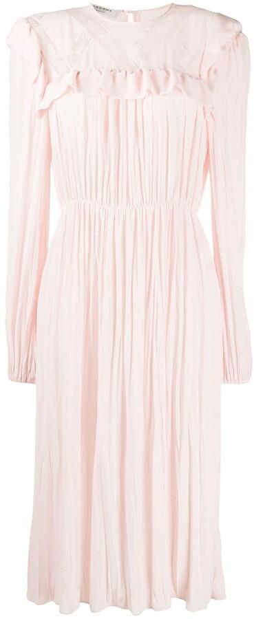 Philosophy di Lorenzo Serafini Lace Detail Flared Dress