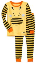 Skip Hop Toddler Girl's 'Zoojamas - Bee' Fitted Two-Piece Pajamas