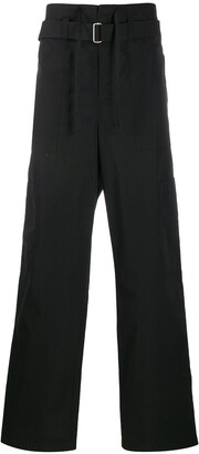 Ambush Belted Straight-Leg Cargo Trousers