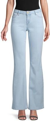 True Religion Fey Mid-Rise Modern Flare Jeans