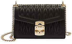 Miu Miu Women's Matelassé Leather Crossbody Bag