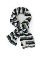 Country Road Stripe Knit Scarf