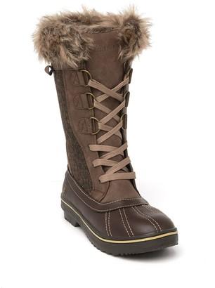 Northside Bishop Faux Fur Lined Duck Boot - Wide Width