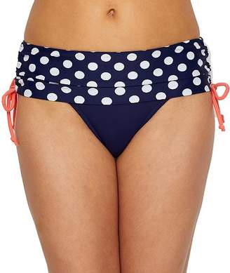 Pour Moi? Pour Moi Sea Breeze Spot Fold-Over Bikini Bottom