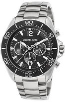 Michael Kors MK8423I Men's Windward Chronograph Stainless Steel Black Dial