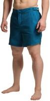 Jachs NY Geometric Striped Hampton Swim Shorts (For Men)