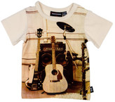 Rock Your Baby MUSIC IS THE ANSWER SHORT SLEEVE TEE (3 - 24M)