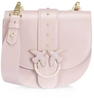Pinko Simply Round Light Pink Love Bag