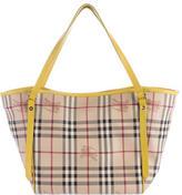 Burberry Haymarket Check Small Canterbury Bag