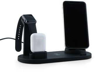 Shop Lc 4 in 1 Wireless Charging Station iPhone Watch AirPods Android phones