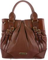Burberry Bridle Leather Satchel
