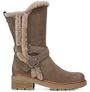 Sam Edelman Women's Jailyn Faux Fur-Lined Suede Boots