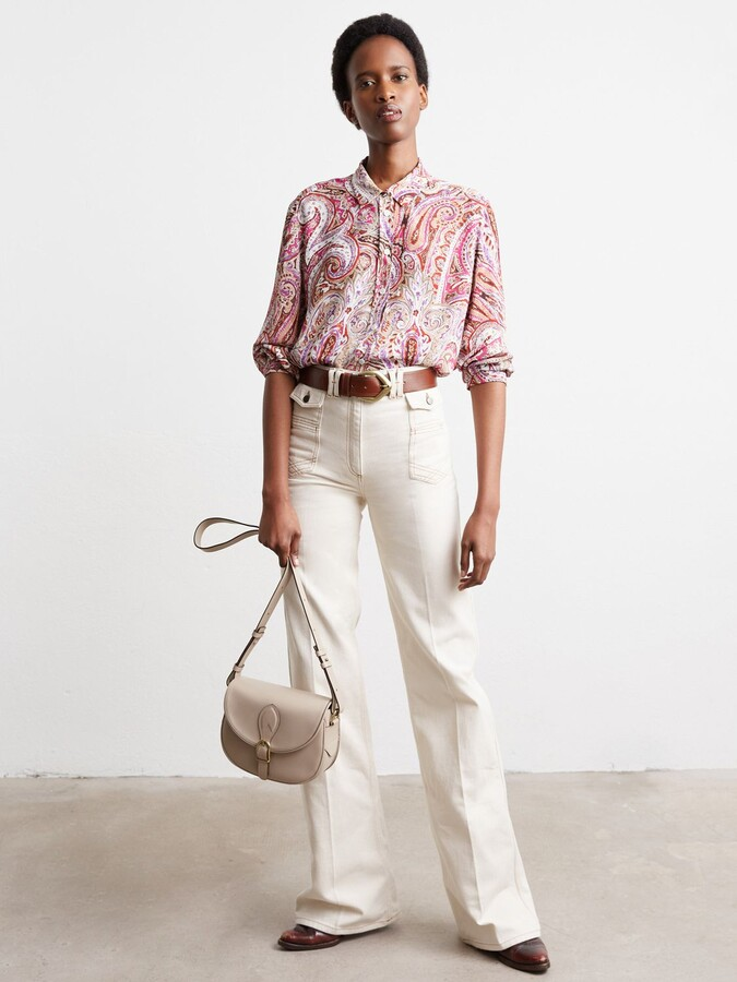 Thumbnail for your product : Gerard Darel Jean Ana Trousers, White