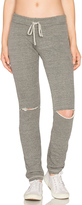 Michael Lauren Jonas Knee Slit Sweatpant