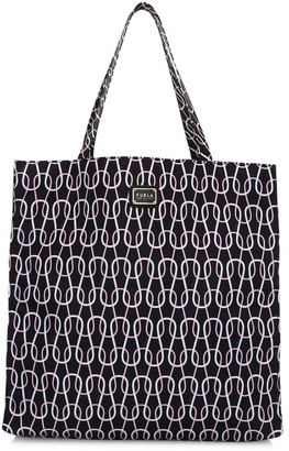 Furla Large Digit Graphic Tote Bag