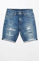 Levi's 511 Slim Love Bites Destroyed Denim Shorts