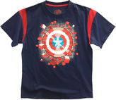 Marvel Short-Sleeve Avengers Shield Cotton Tee