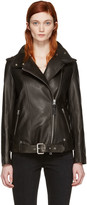 Mackage Black Leather Selenia Jacket