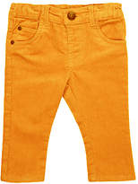 John Lewis Artroom Corduroy Trousers, Yellow
