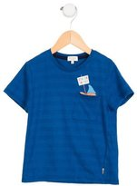 Paul Smith Boys' Striped Graphic T-Shirt