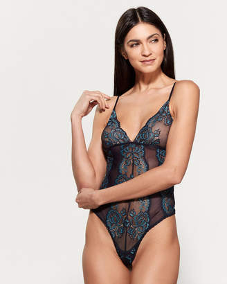 Jonquil In Bloom By Lace Mesh Back Teddy