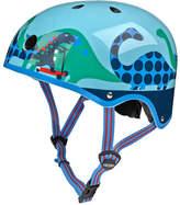 Micro Kickboard Dinosaur-Print Helmet
