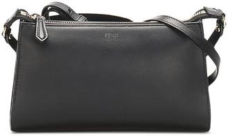 Fendi Pre-Owned Debossed-Logo Crossbody Bag