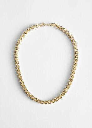 And other stories Twisted Chain Link Necklace