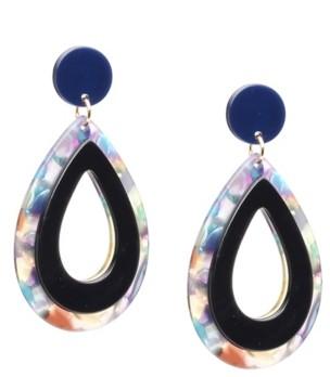 Kelly & Katie Lucite Oval Drop Earrings