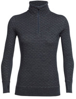 Icebreaker Women's Affinity Thermo Long Sleeve Half Zip Pullover