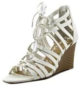 American Rag Kyle Women Open Toe Synthetic White Wedge Sandal.