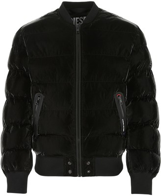 Diesel W-On-A Quilted Bomber Jacket